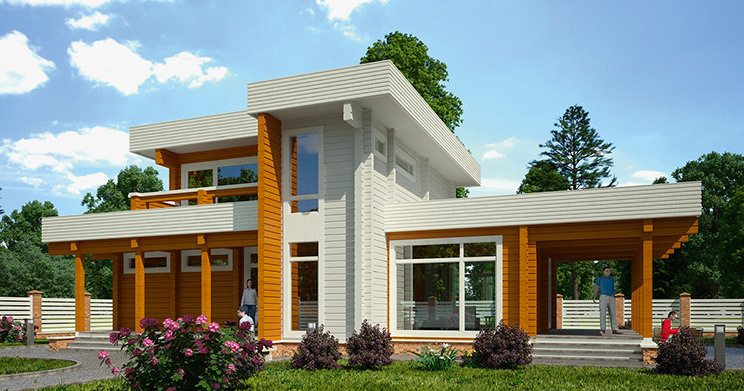 Проект дома №76