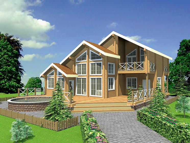 Проект дома №135