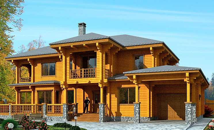 Проект дома №143