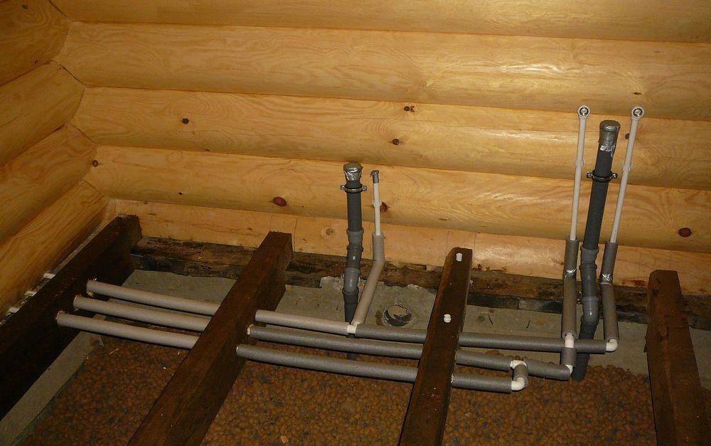 Как сделать трубу в деревянном доме