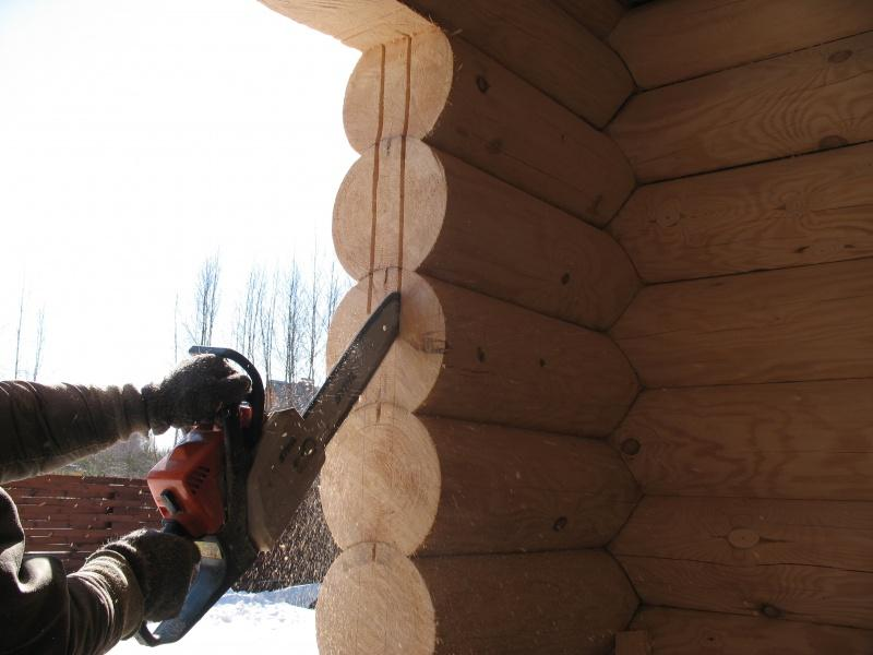 Как увеличить окно в деревянном доме своими руками 17