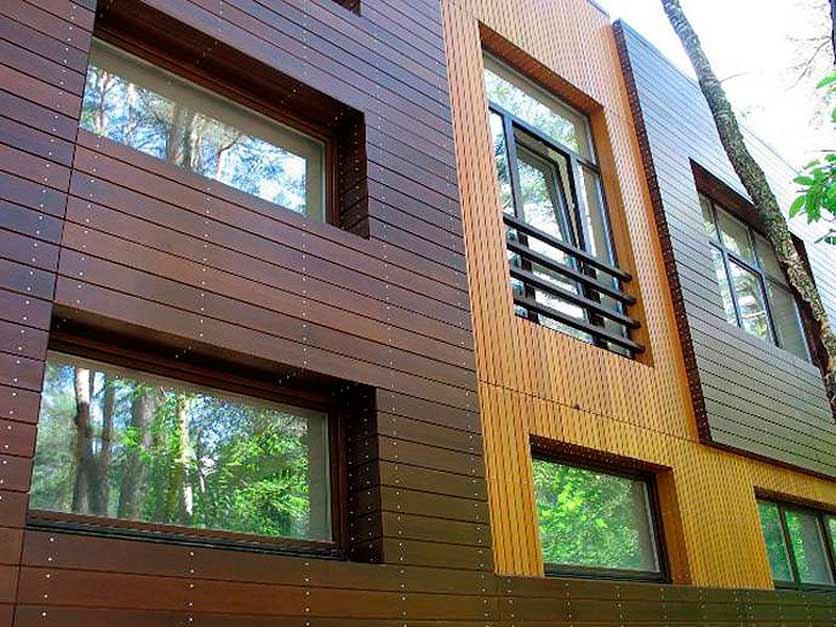 Внешняя отделка деревянного дома по низкой цене от компан....