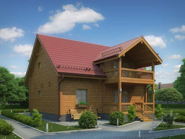 Деревянный дом №39
