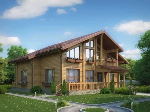 Деревянный дом №41