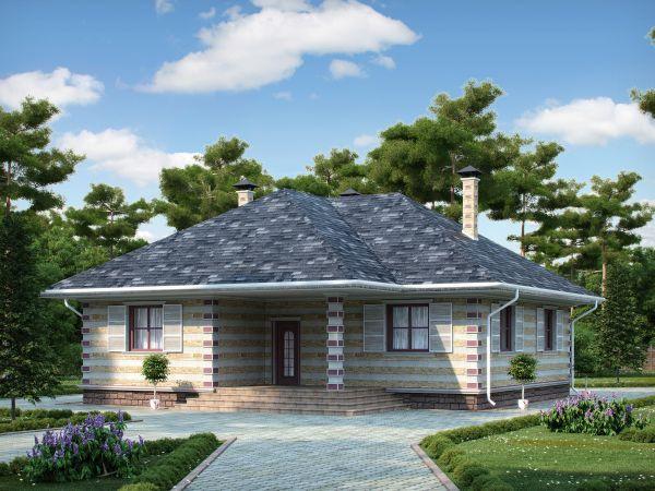 Деревянный дом №42
