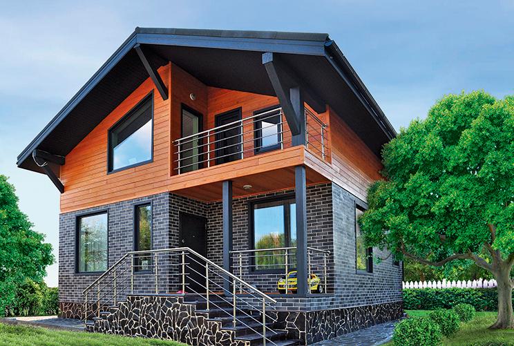 Деревянный дом №43