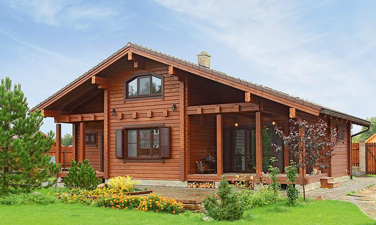 Деревянный дом №49