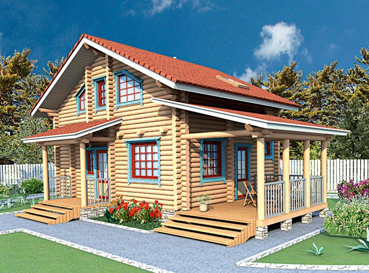 Деревянный дом №51