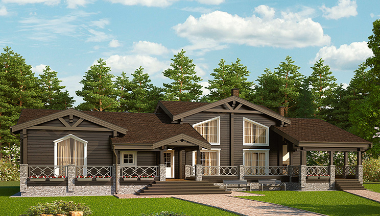 Проект дома №133