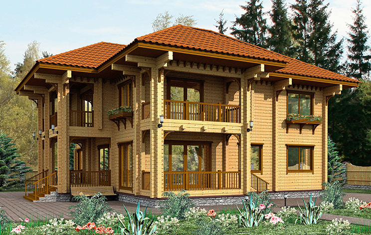Проект дома №144