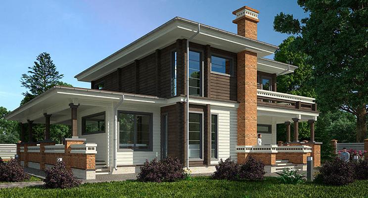 Проект дома №145