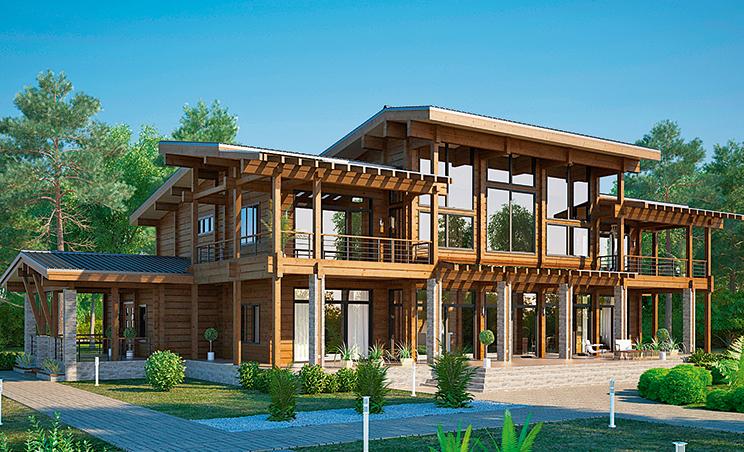 Проект дома №146