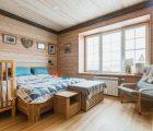 Отделка комнат в деревянном доме