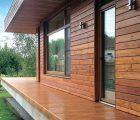 Внешняя отделка деревянного дома