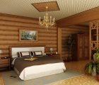 Внутренняя отделка деревянного дом