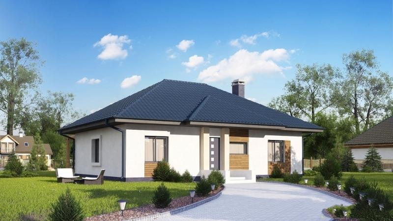 """Проект дома """"Паули"""", профилированный брус, 130 кв.м."""