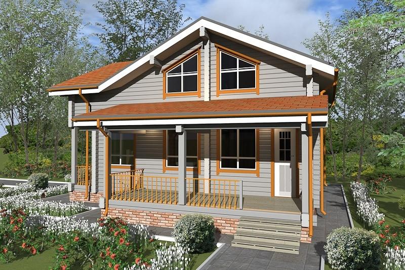 """Проект дома """"Клото"""", профилированный брус, 242 кв.м."""