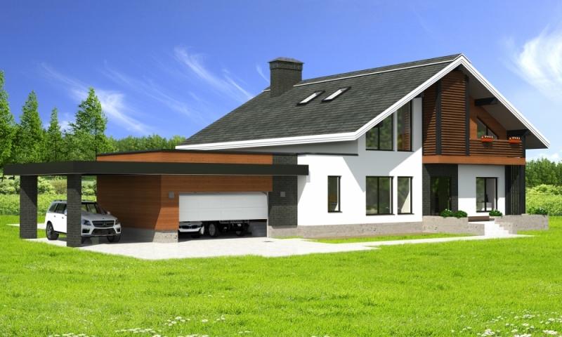 """Проект дома """"Линдбладия"""", брус камерной сушки, 440 кв.м."""