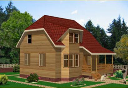 """Проект дома """"Филипп"""", профилированный брус, 144 кв.м."""