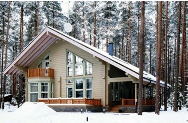 """Проект дома """"Спика"""", профилированный брус, 225 кв.м."""