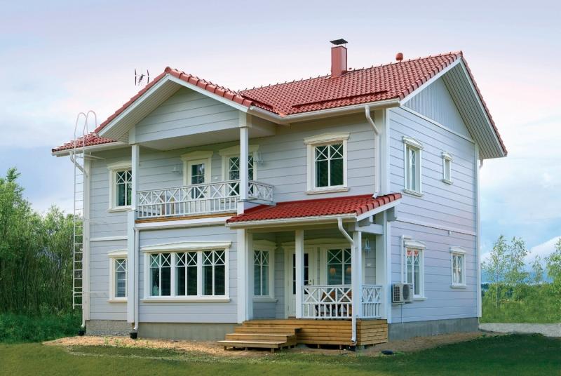 """Проект дома """"Маати"""", профилированный брус, 176 кв.м."""