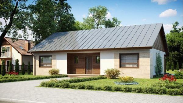 """Проект дома """"Аус"""", профилированный брус, 203.3 кв.м."""
