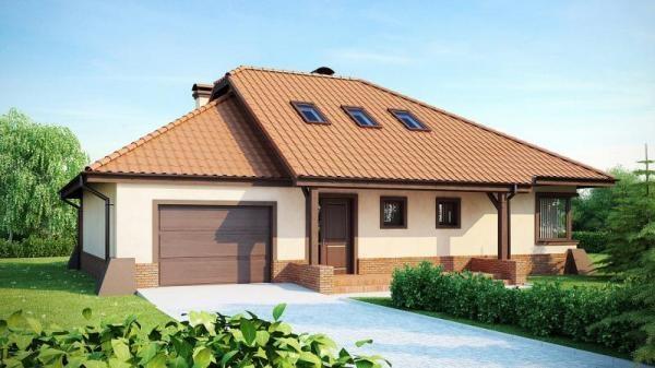 """Проект дома """"Атлантида"""", профилированный брус, 150.5 кв.м."""