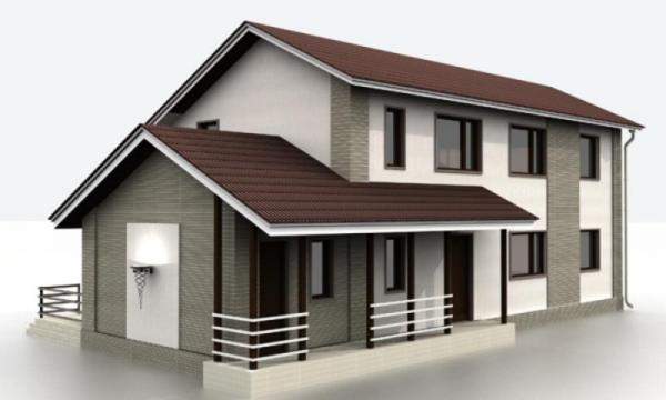 """Проект дома """"Пейто"""", профилированный брус, 137.38 кв.м."""