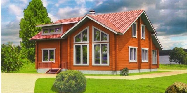 """Проект дома """"Меццарко"""", профилированный брус, 144 кв.м."""