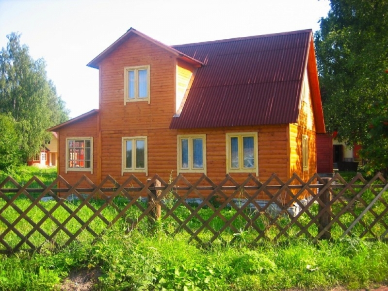 """Проект дома """"Элпида"""", профилированный брус, 51.63 кв.м."""