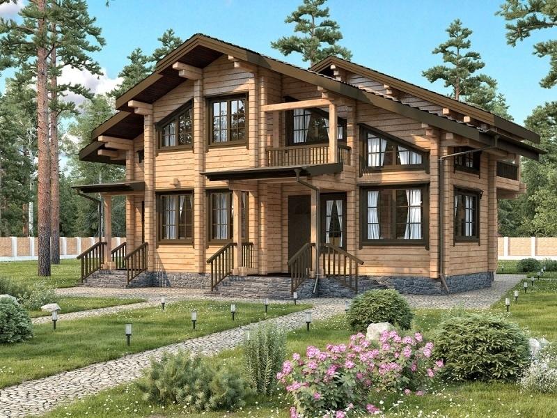 """Проект дома """"Владилена"""", профилированный брус, 110 кв.м."""