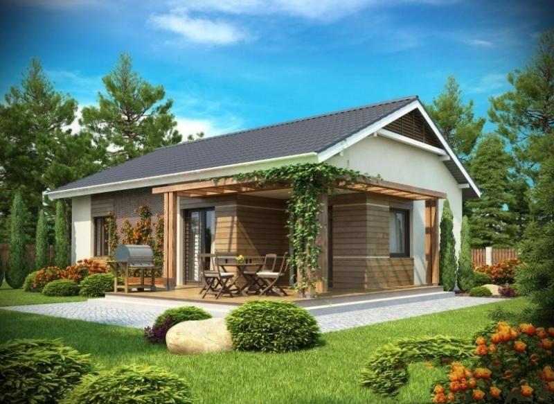 """Проект дома """"Ниоба"""", профилированный брус, 108 кв.м."""