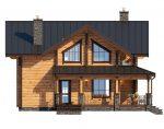 Двухэтажные дома из бруса камерной сушки